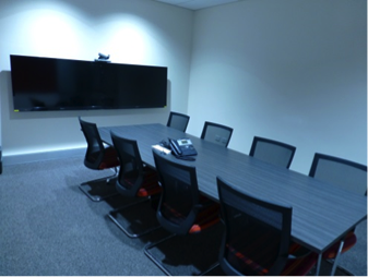 Integrated videoconference room