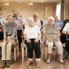 Aged care setting